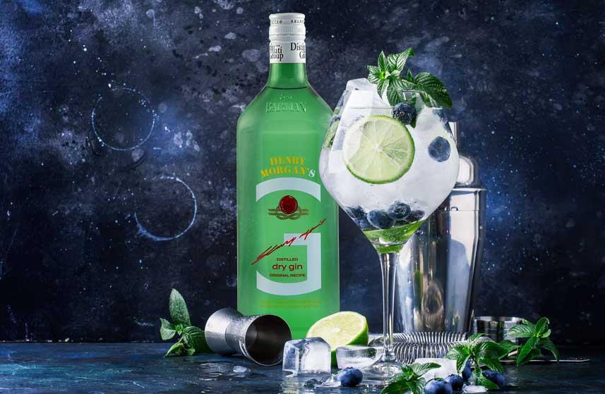 Dry gin distillati